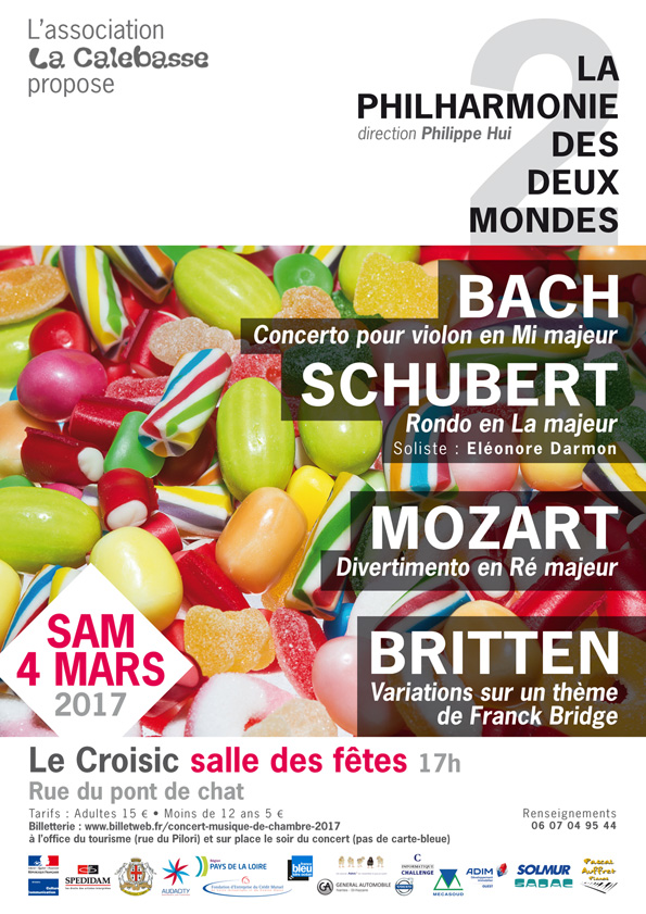 Samedi 4 mars, au Croisic, venez assister à notre prochain concert !